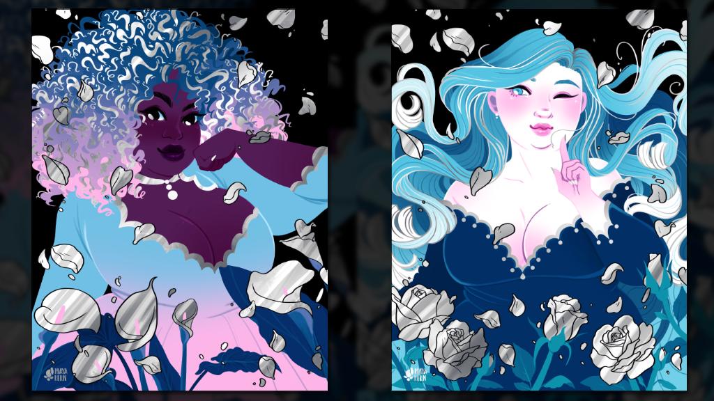 make/100: Flower Girls Art Prints project video thumbnail