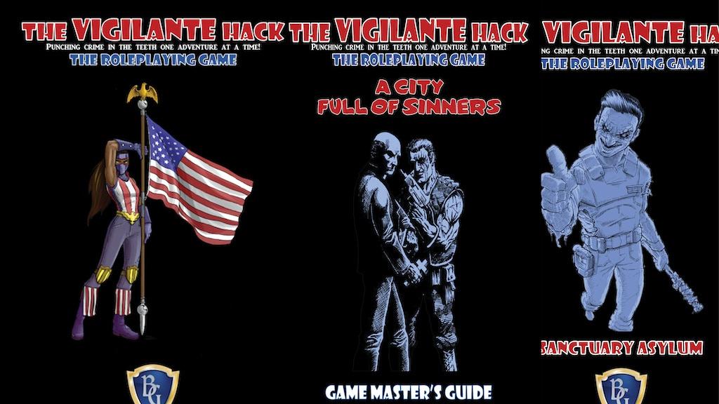 The Complete Vigilante Hack - Make/100 L.E. 3-in-1 RPG project video thumbnail