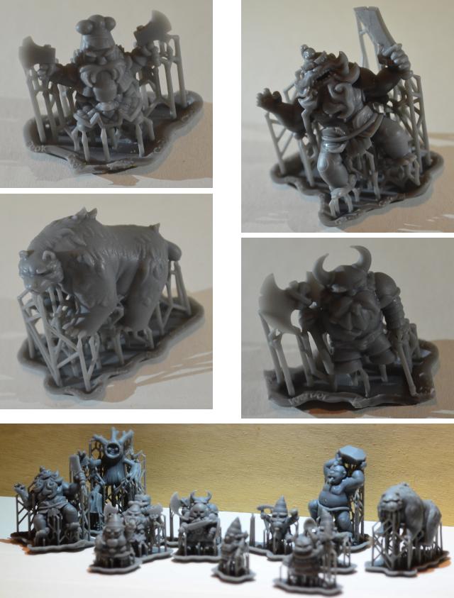 3D-printed miniature samples