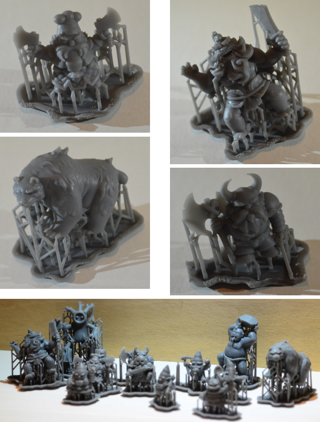 3D-printed miniature samples