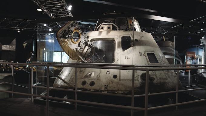 The Apollo 8 Capsule in Chicago, IL