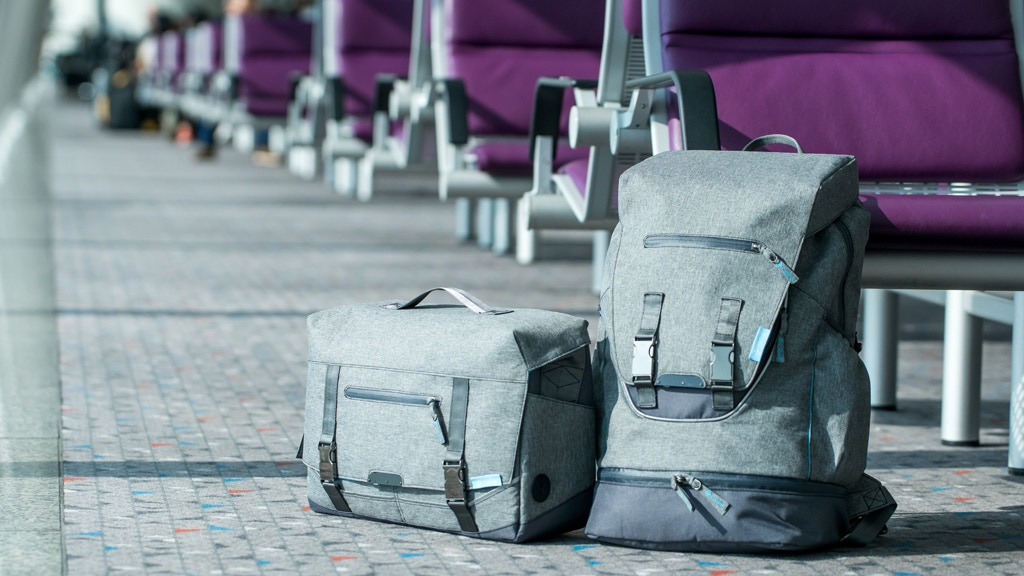 CabinR Electronic Anti-theft Travel Backpack & Messenger Bag