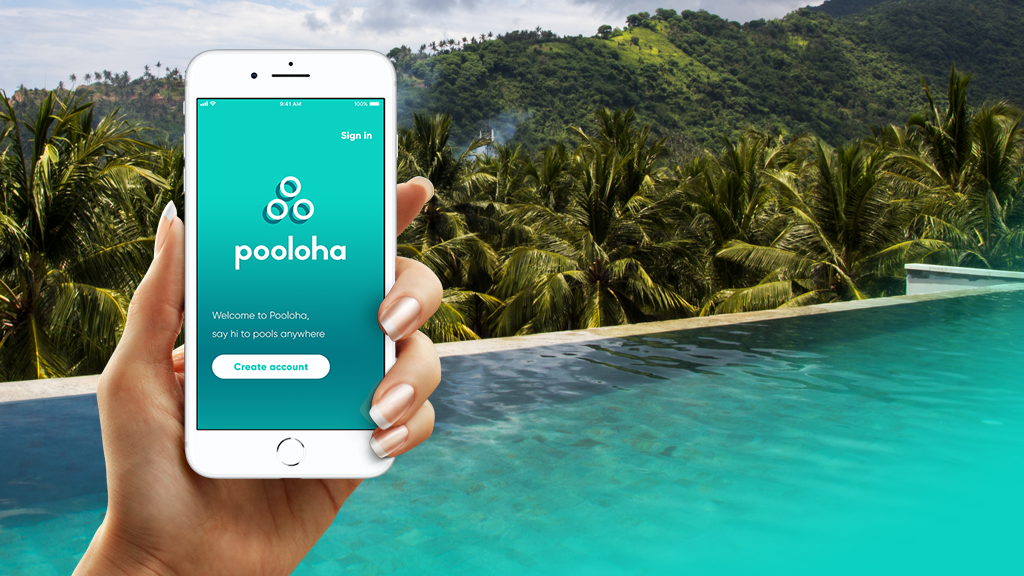 Pooloha, rent or rent out swimming pools anywhere!
