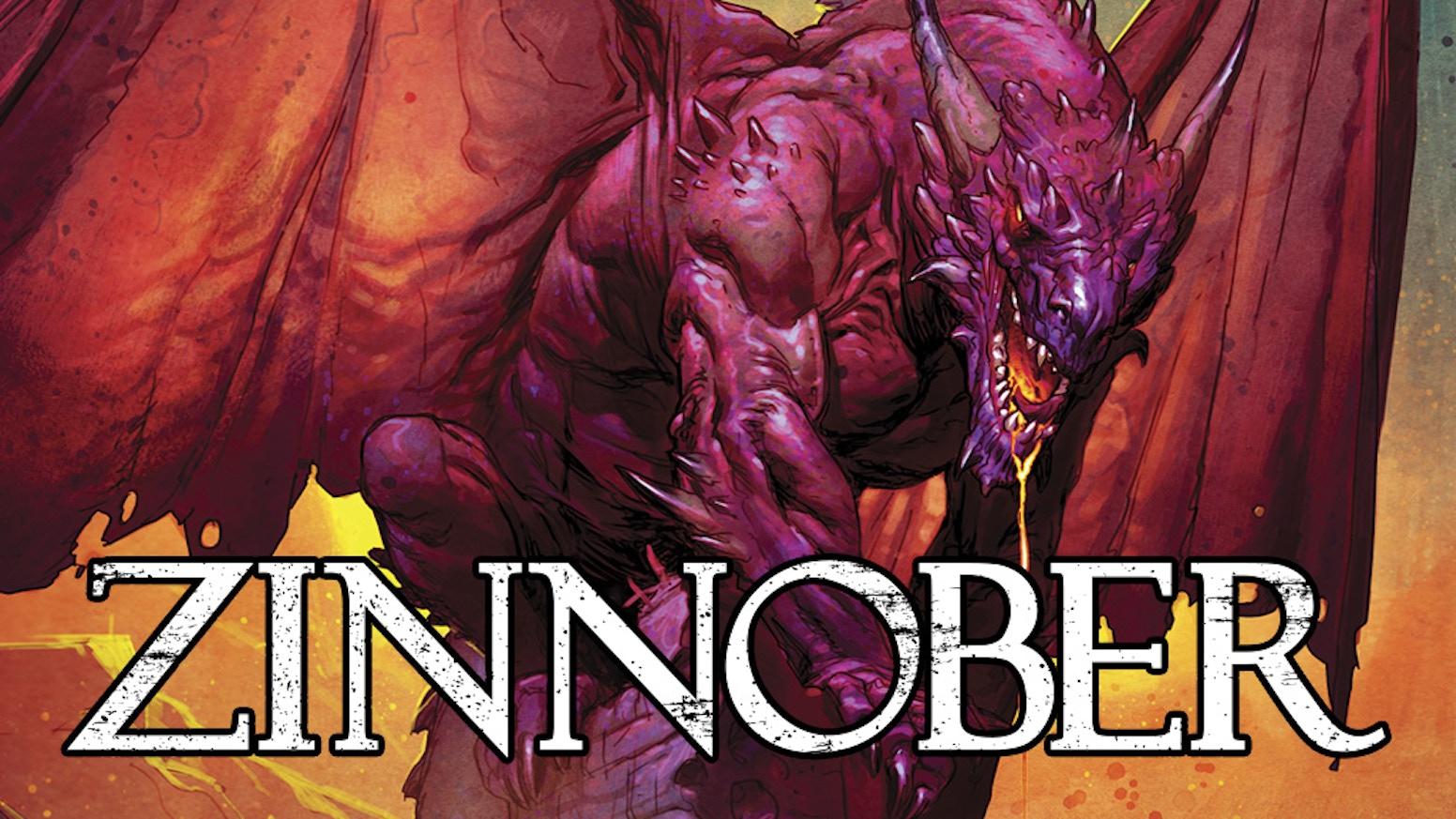 Zinnober, Hardcover Comic -deutsch- Die Welt wurde von Drachen verwüstet. Claire will Rache und dieses Ziel verfolgt sie rücksichtslos.