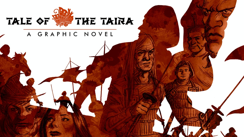 Tale of the Taira - Graphic Novel Volume 1 project video thumbnail