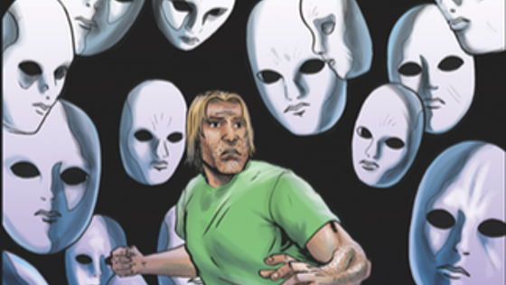 James vs The New World Order Issue #3 Relaunch