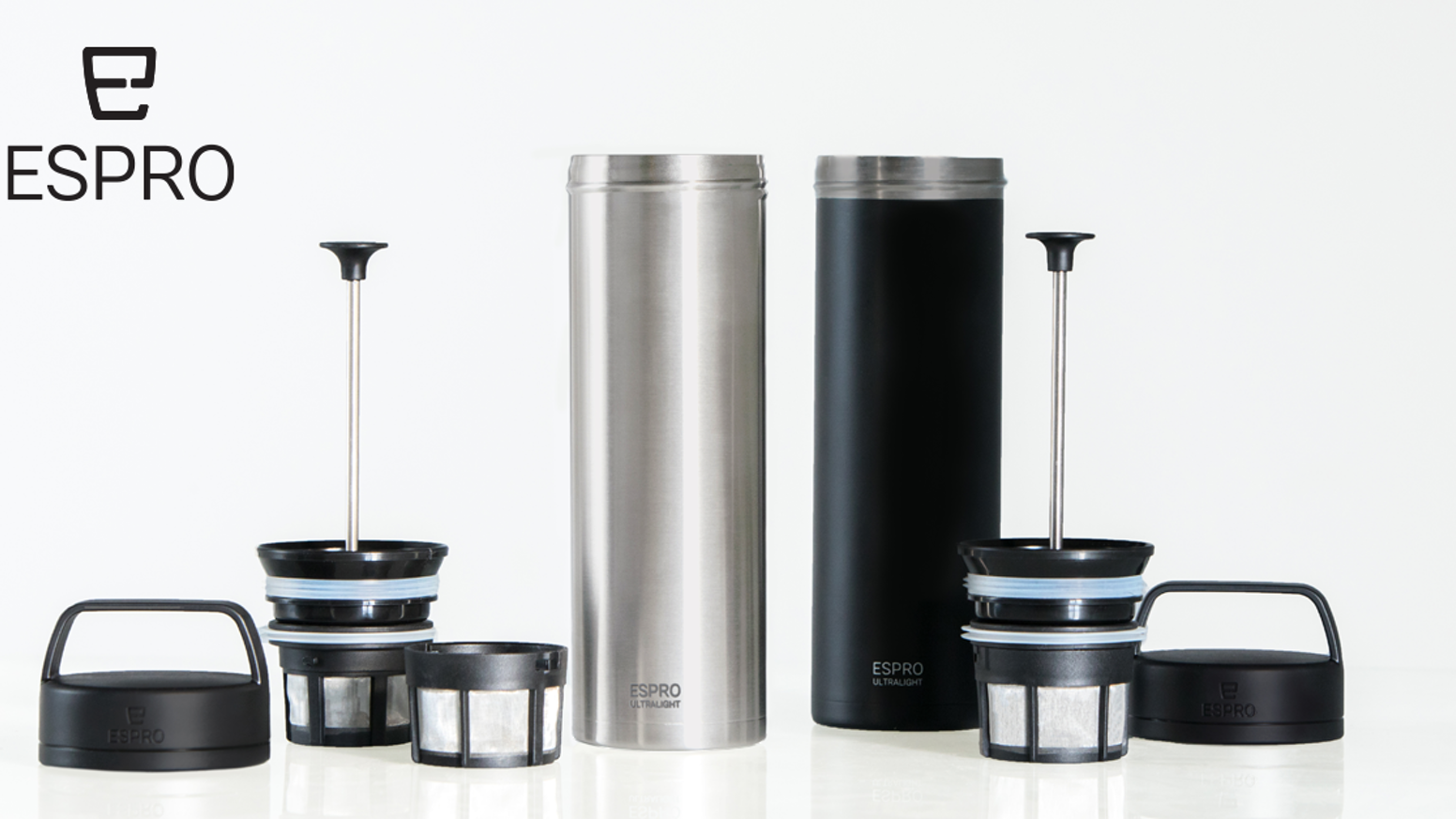 ESPRO Ultralight Travel Press| Caffeinate & Hydrate Anywhere by ...