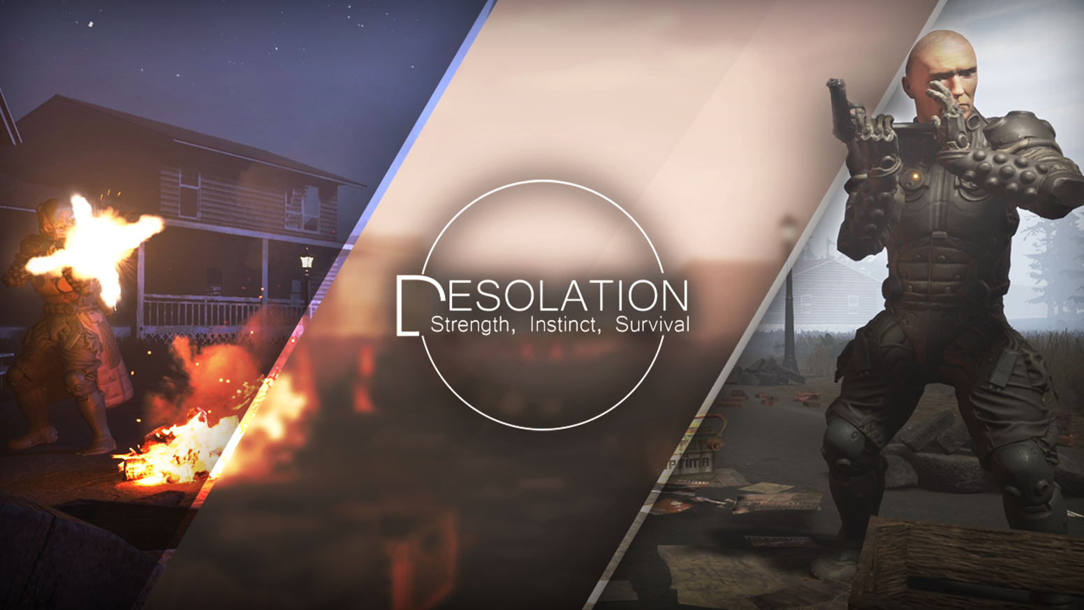 Desolation is a tactical, stealthy Battle Royale Project aimed at giving the community the epic fight to the death they deserve.