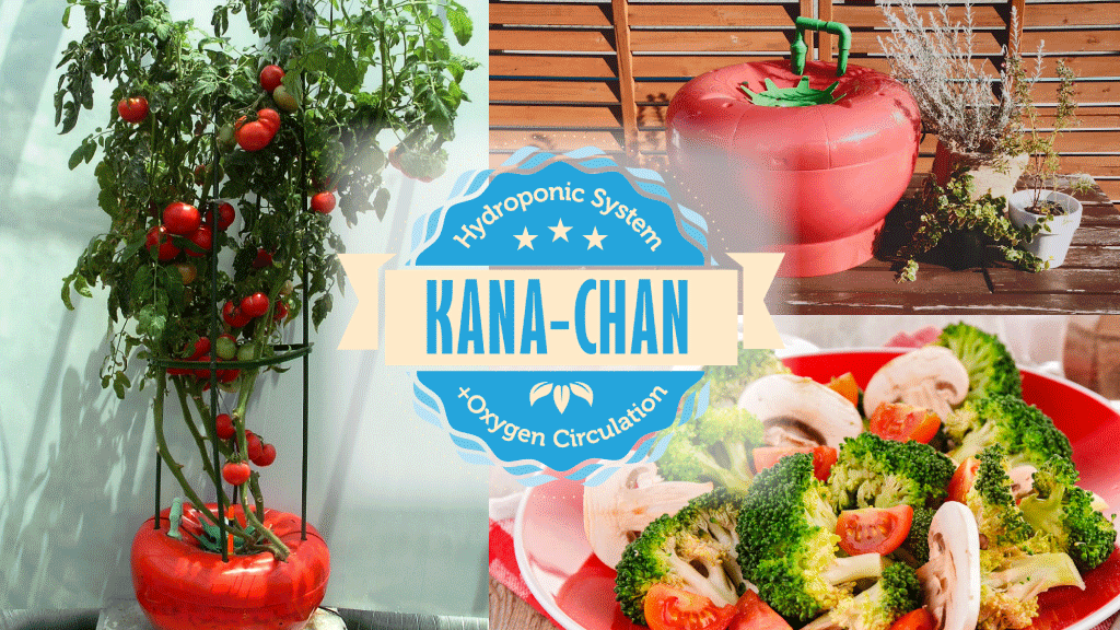 KANA-chan, The World's Best Hydroponic Oxygen System