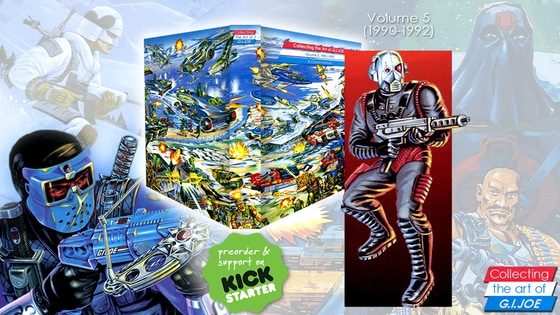 Collecting the art of G.I. Joe: Volume 5 (1990-1992)