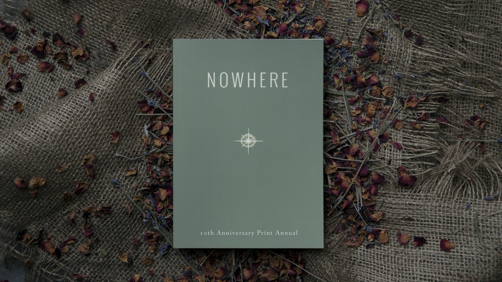 Nowhere: The greatest travel writing, anywhere. project video thumbnail