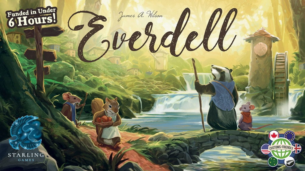 Everdell: A Beautiful Board Game of Cards and Critters project video thumbnail