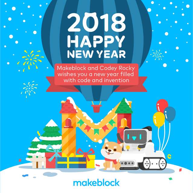 codey rocky wishes you happy new year
