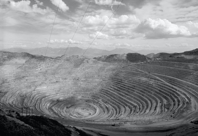 Bingham Canyon Mine, Copperton, Utah / Unknown Photographer / 1972