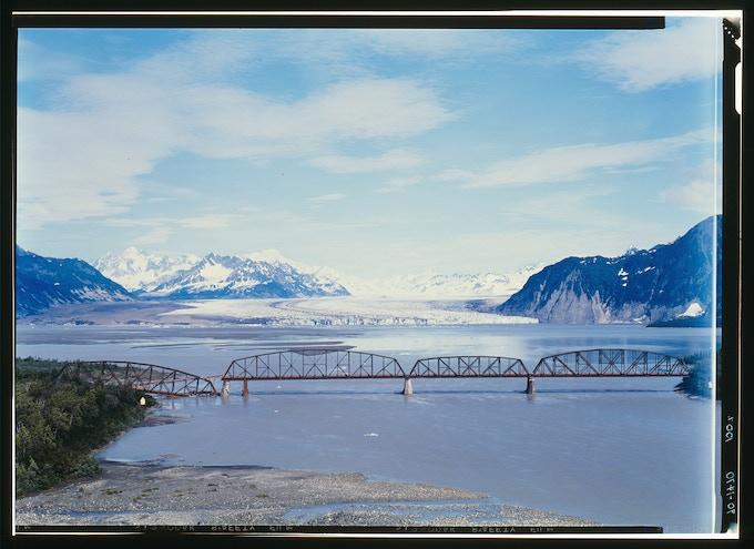 Million Dollar Bridge, Cordova, Alaska / Jet Lowe / 1984