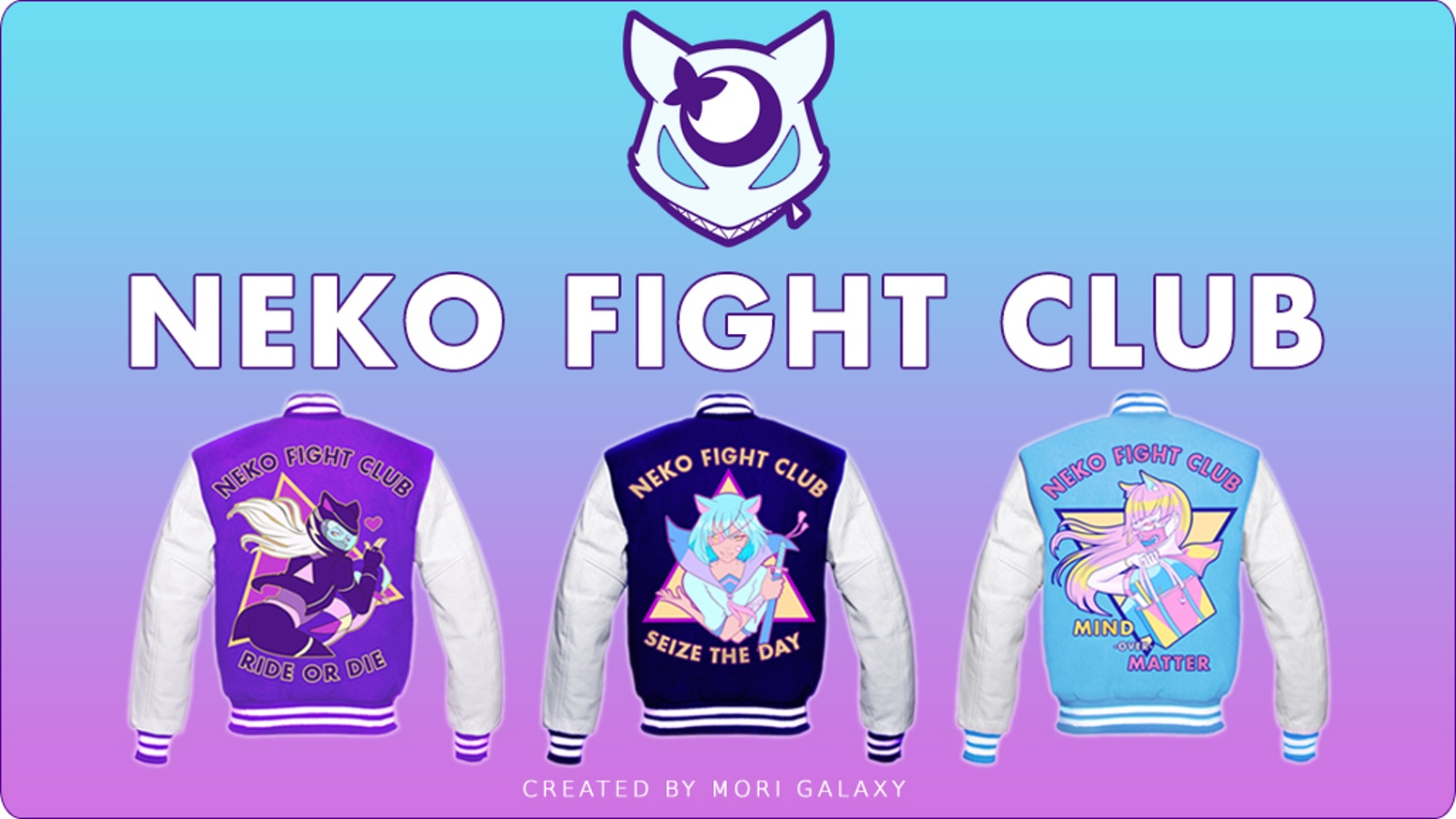 Even cute girls can look tough! Creating jackets to show off our skills, talent, and strengths. Find out which Neko best represent you!