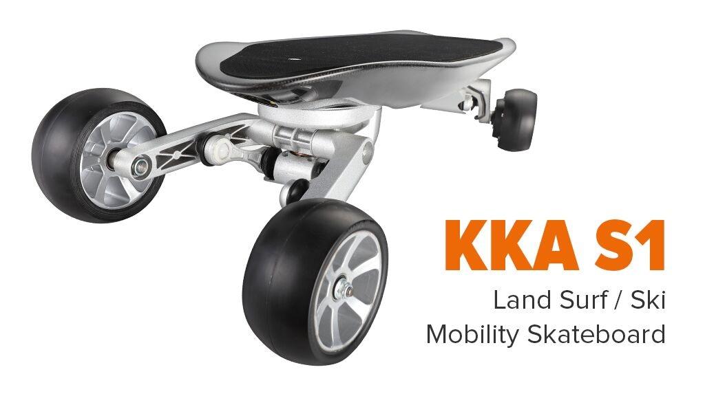 KKA S1 - Land Surf / Ski Mobility Skateboard