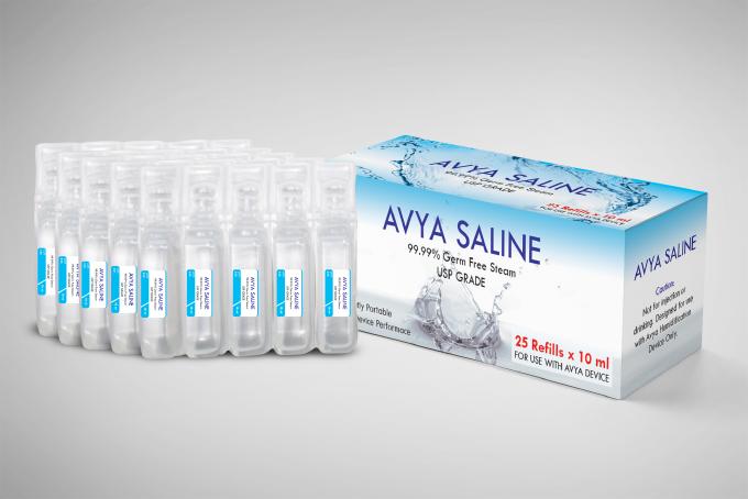 Avya's saline pack