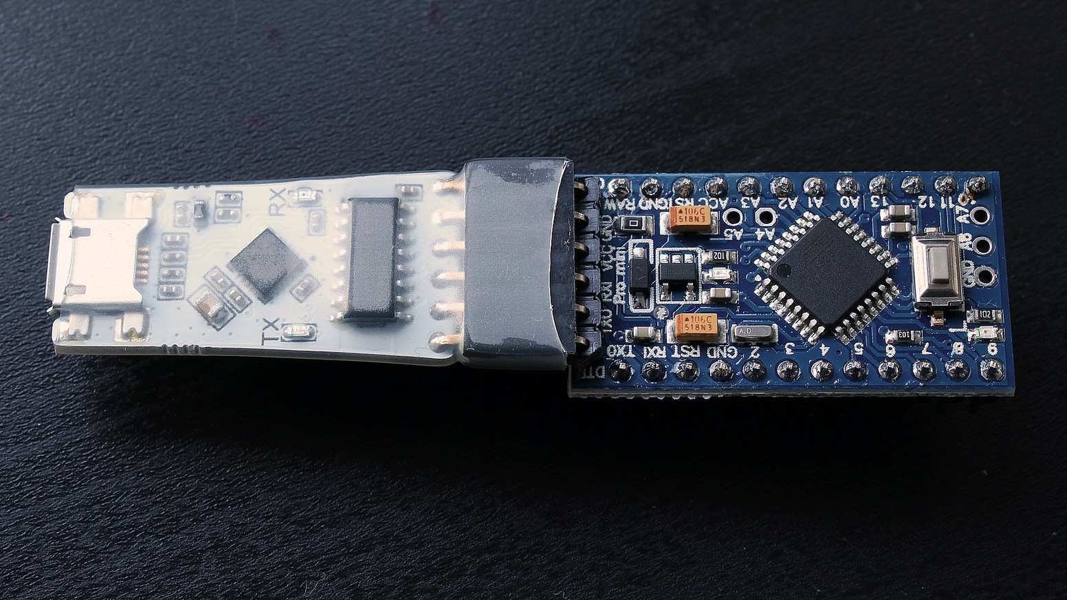 Isolated Usb To Uart Converter For Arduino Pro Mini By Simone Connecting Power Source Arduino39s 5v Pin Electrical Engineering Inexpensive Port Saver Simple Tiny With Digital Isolator Working