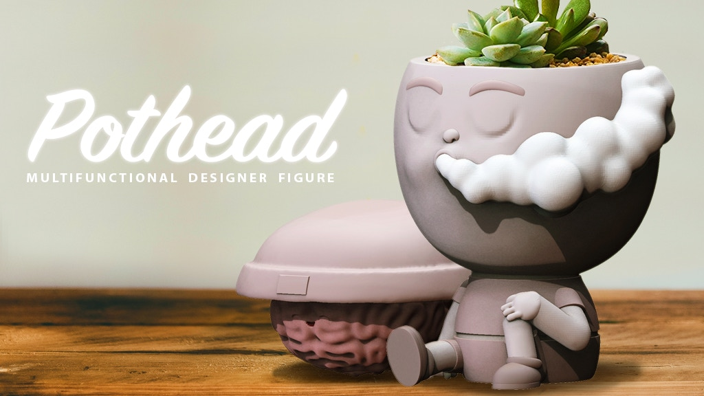 Pothead Designer Figure project video thumbnail