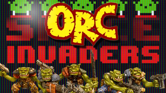 Orc Invaders - 28mm Sci-fi Orc Miniatures