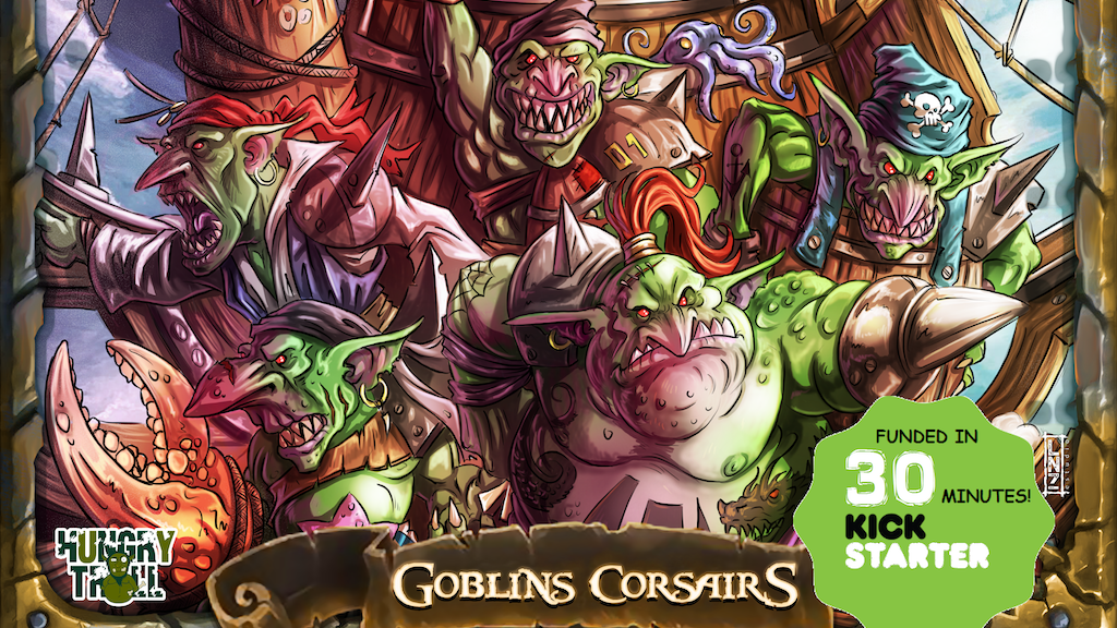 Goblins Corsairs project video thumbnail