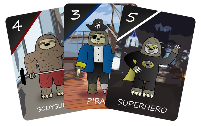 3 Sloths that will appear in the Special Edition!