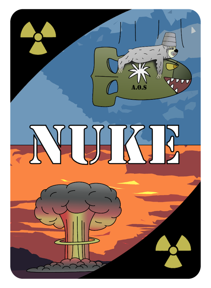 The Nuke! It will appear in both the Standard Edition and Special Edition!