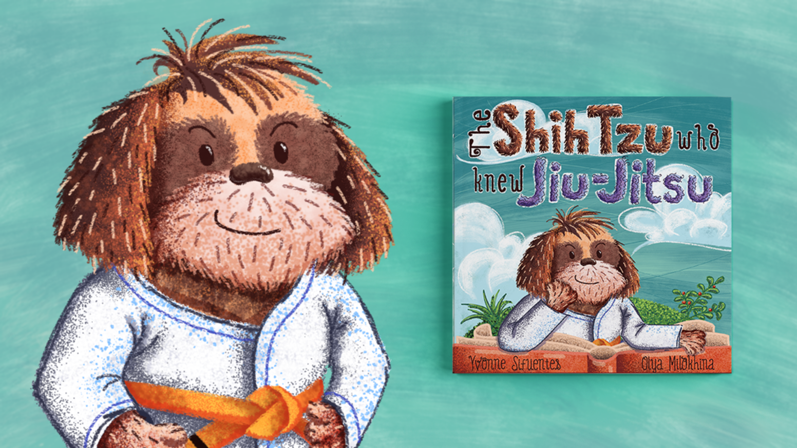 The Shih Tzu Who Knew Jiu Jitsu By Yvonne Sifuentes Kickstarter