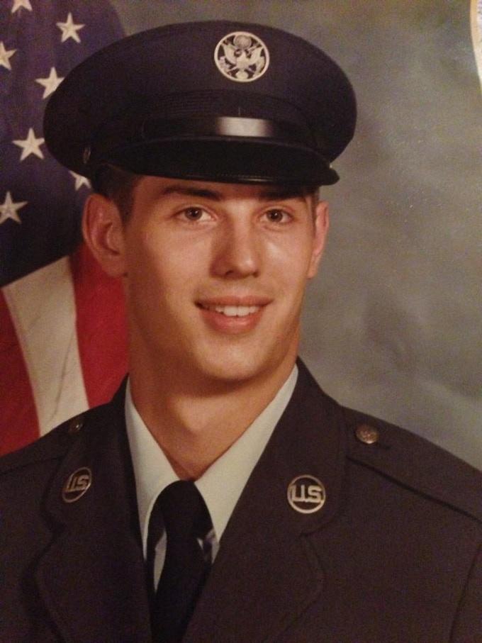 Richard in Service in 1978