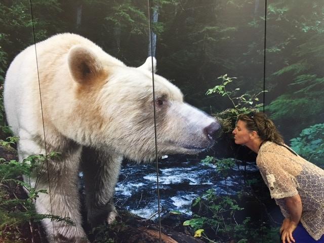 Author + Polar Bear