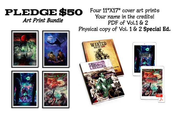 * OR add $15 to any tier for all 4 prints!