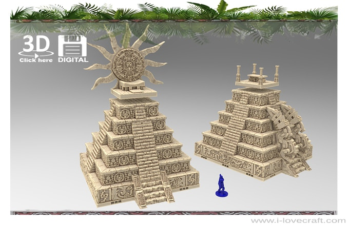 Jungle Fever Resin Cast And 3d Printable Scenery By Iain