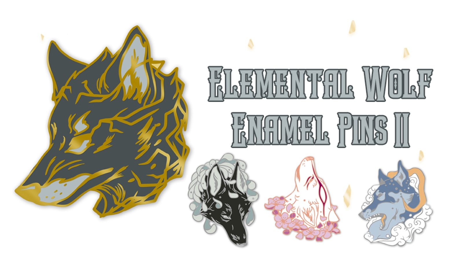 An extension of my first Elemental Wolf series. Let's welcome these new wolves to the pack!