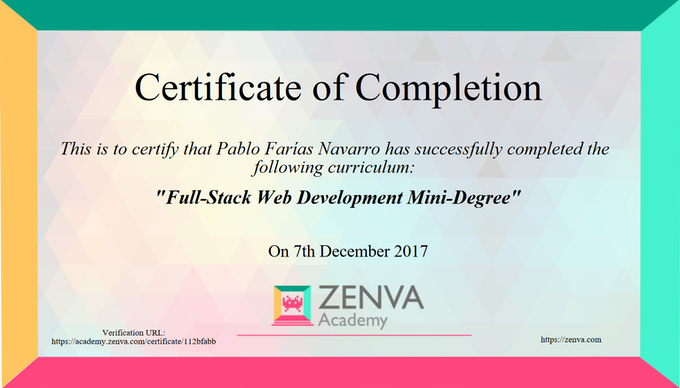 Full-Stack Web Development Mini-Degree by Pablo Farias Navarro ...
