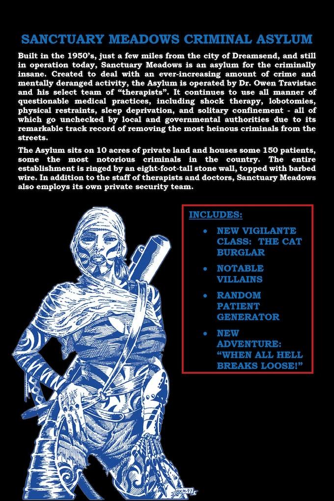 The Complete Vigilante Hack - Make/100 L E  3-in-1 RPG by