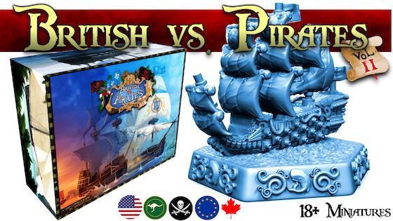 British vs Pirates Volume 2
