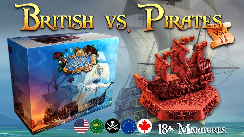 British vs Pirates Volume 2 project video thumbnail