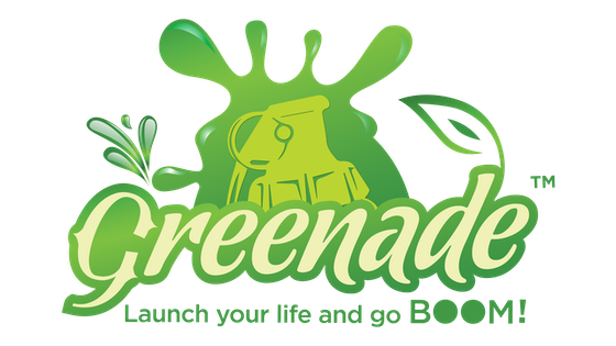 Greenade - Launch Your Life and Go BOOM!