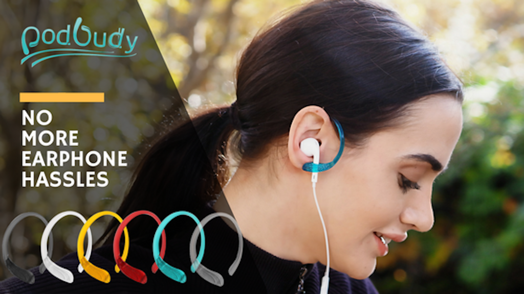 Podbudy / Earphone buddy for uninterrupted workouts & music project video thumbnail