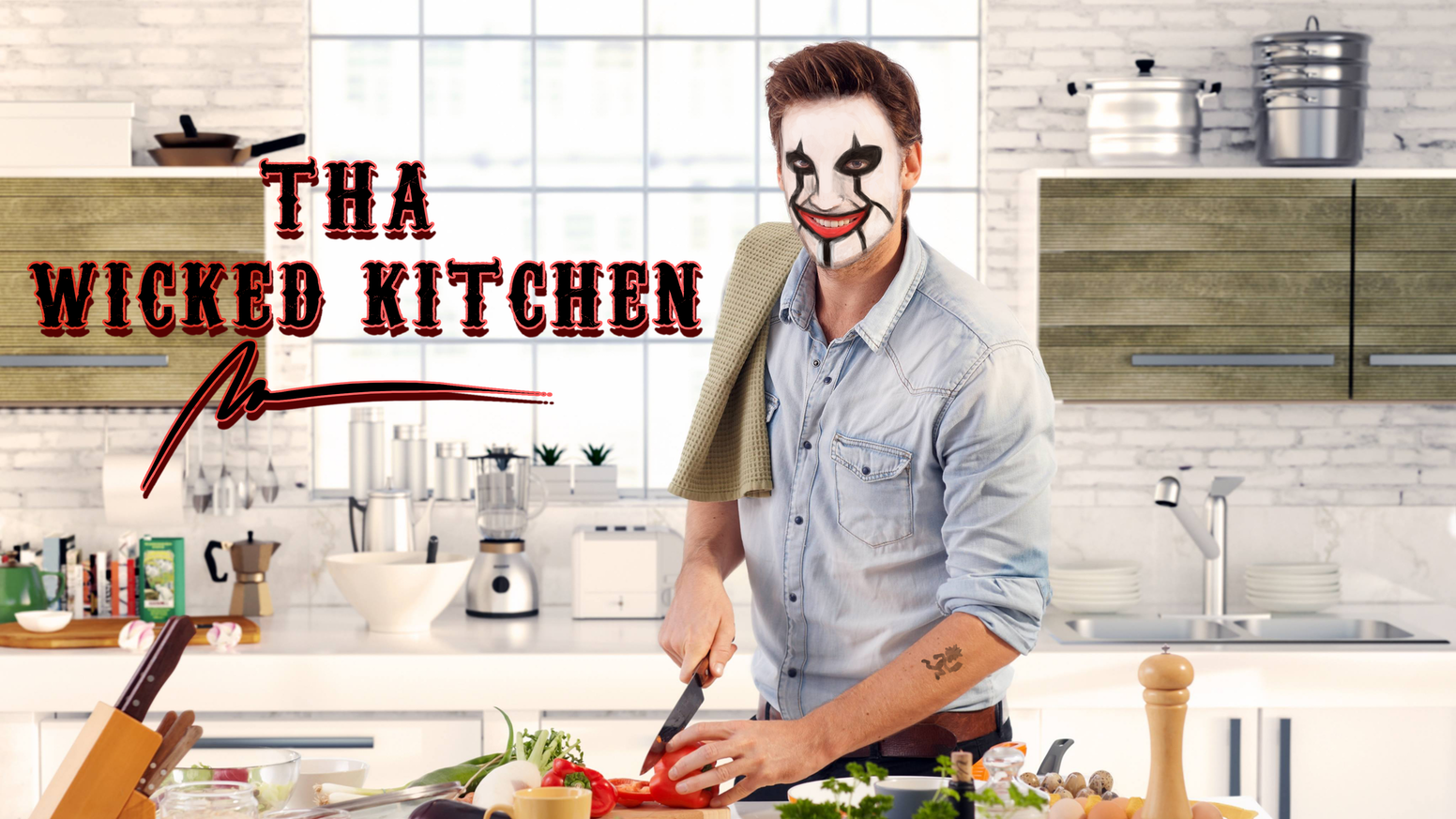 Tha Wicked Kitchen - The First Juggalo Cookbook by Brad