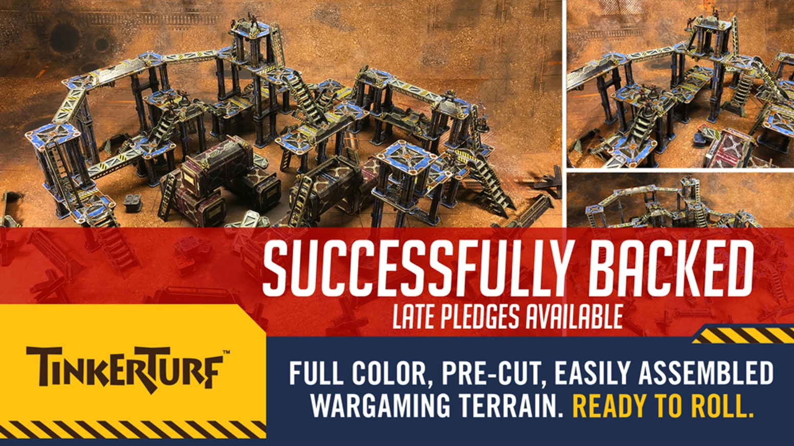 TinkerTurf - Full Color Wargaming Terrain by TinkerHouse Games