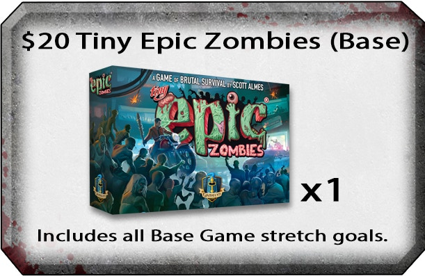 Tiny Epic Zombies - A Game of Brutal Survival by Gamelyn Games