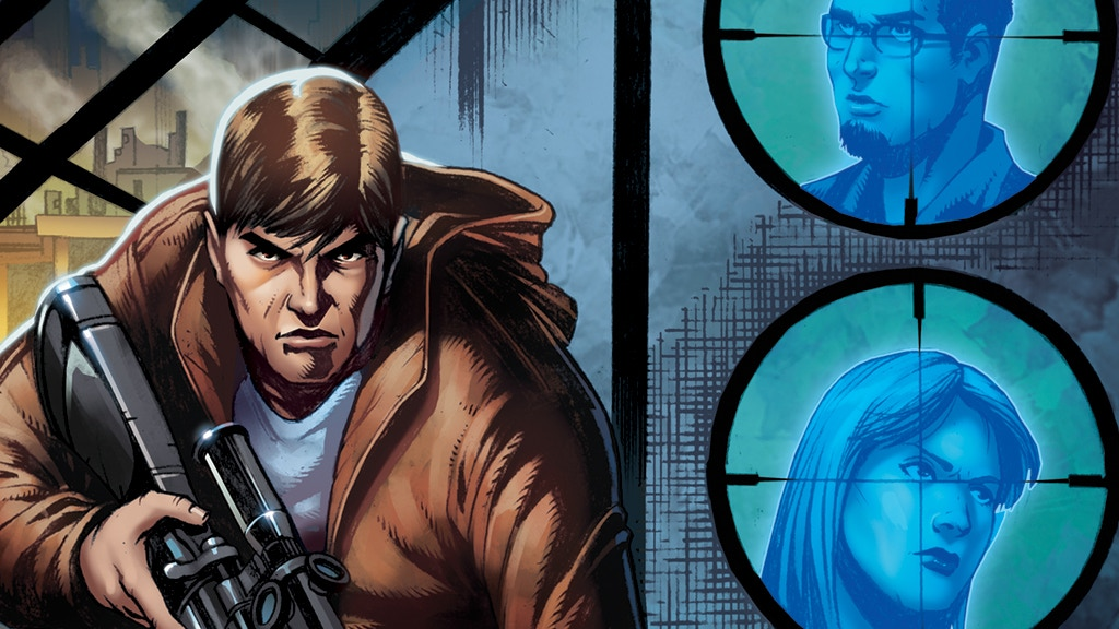 Ghost Assassin Issue #1 A Supernatural Crime Suspense Comic project video thumbnail