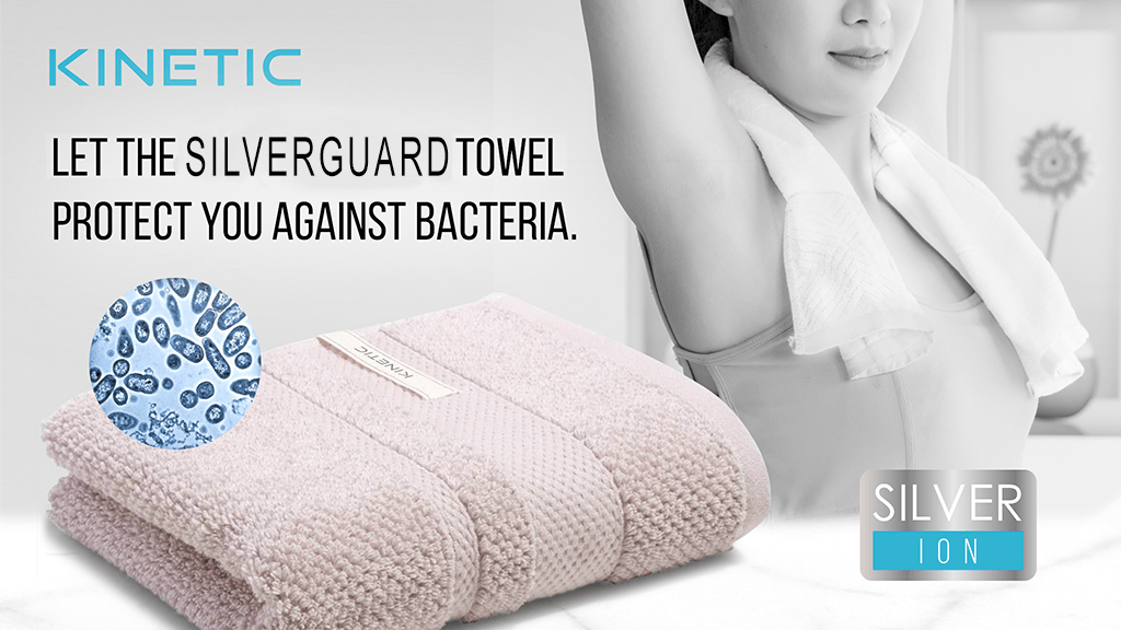SilverGuard Gym Towel: Absorb sweat, w/o the odor & germs! project video thumbnail
