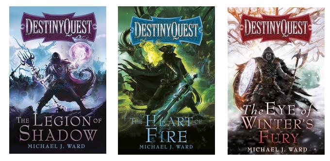The previous Destiny Quest titles (1,2,3)