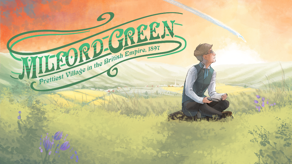 Milford Green | A one-shot Victorian alien adventure comic project video thumbnail