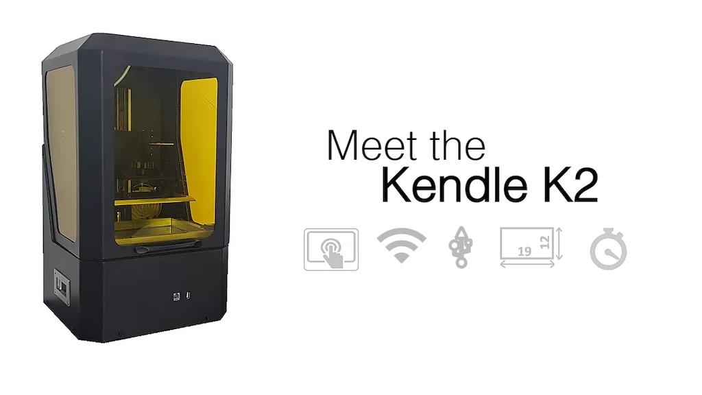 Kendle K2 | affordable large printing area SLA 3d printer project video thumbnail