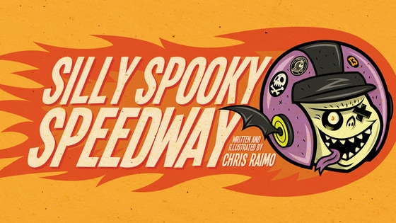 Silly Spooky Speedway Book
