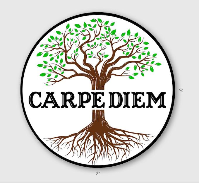 Carpe Diem Tree of Life Sticker